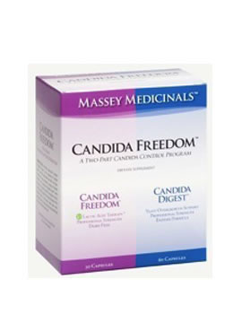 Massey Medicinals Candida Freedom Kit
