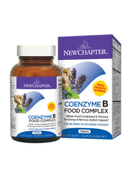 New Chapter CoEnzyme B Food Complex