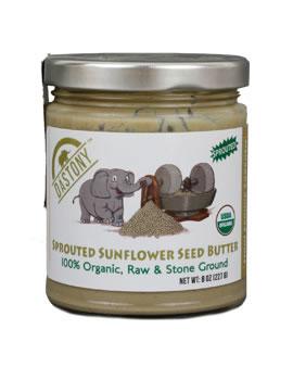 Dastony Stone Ground Raw Organic Sunflower Butter