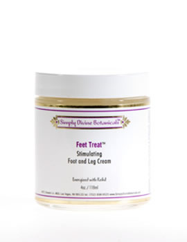 "Simply Divine Botanicals ""Feet Treat"" Cream"