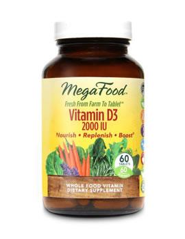 MegaFood Vitamin D3 2000IU