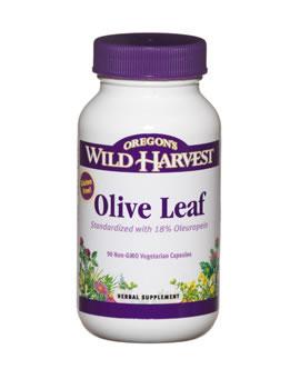 Oregon Wild Harvest Olive Leaf