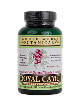 Whole World Botanicals Royal Camu Veggie Caps