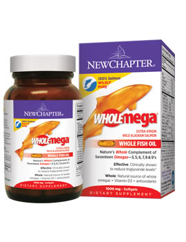 New Chapter WholeMega Fish Oil