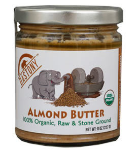 Dastony Organic Stone Ground Almond Butter