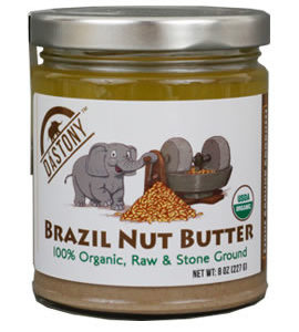 Dastony Stone Ground Organic Raw Brazil Nut Butter