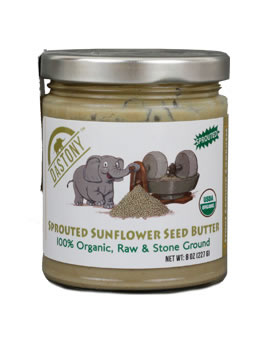 Dastony Stone Ground Raw Organic Sunflower Butter
