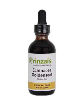 Rinzai's Echinacea Goldenseal Glycerite