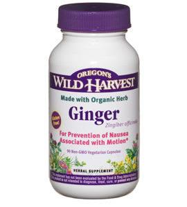 Oregon Wild Harvest Ginger