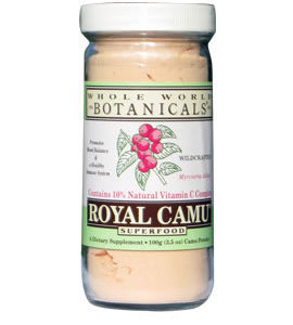 Whole World Botanicals Royal Camu Light Powder