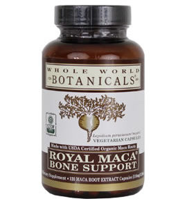 Whole World Botanicals Maca Bone Support