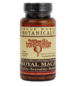 Whole World Botanicals Royal Maca Vitality