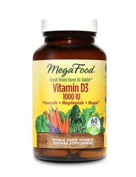 MegaFood Vitamin D3 1000IU