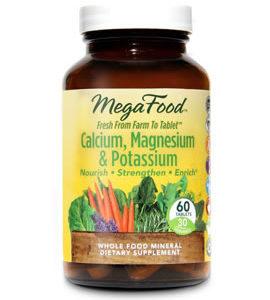 MegaFood Calcium, Magnesium & Potassium