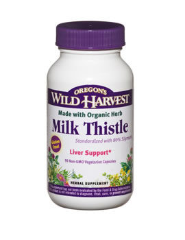 Oregon Wild Harvest Milk Thistle