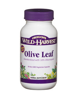 Oregon Wild Harvest Olive Leaf