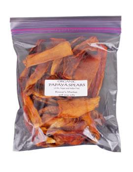 Rinzai's Market Superfoods Organic Dried Papaya