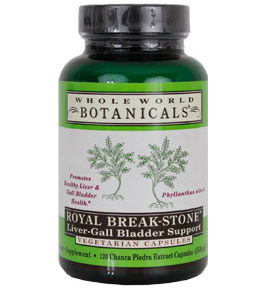Whole World Botanicals Royal Breakstone Liver-Gall Bladder