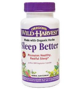 Oregon Wild Harvest Sleep Better
